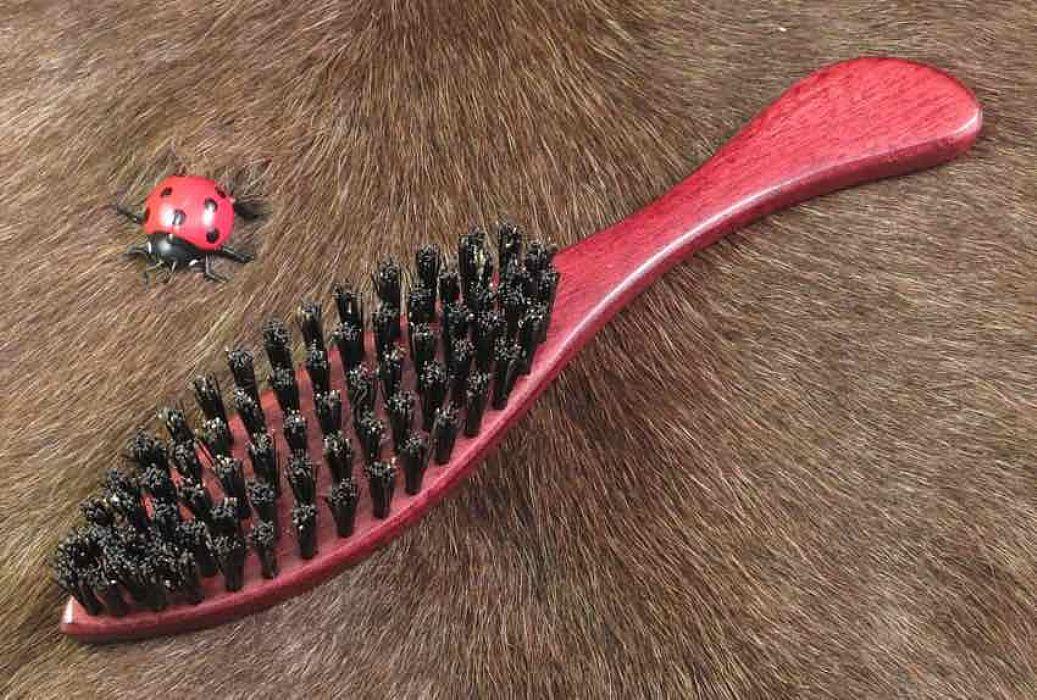 hårbørste svinebørster