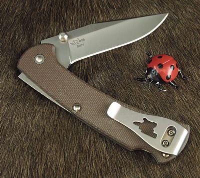 Buck Slim Pro Ranger 112 Folding Knife Brown
